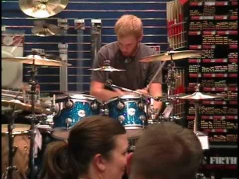 Drew Goddard at Guitar Center Drum Off preliminary