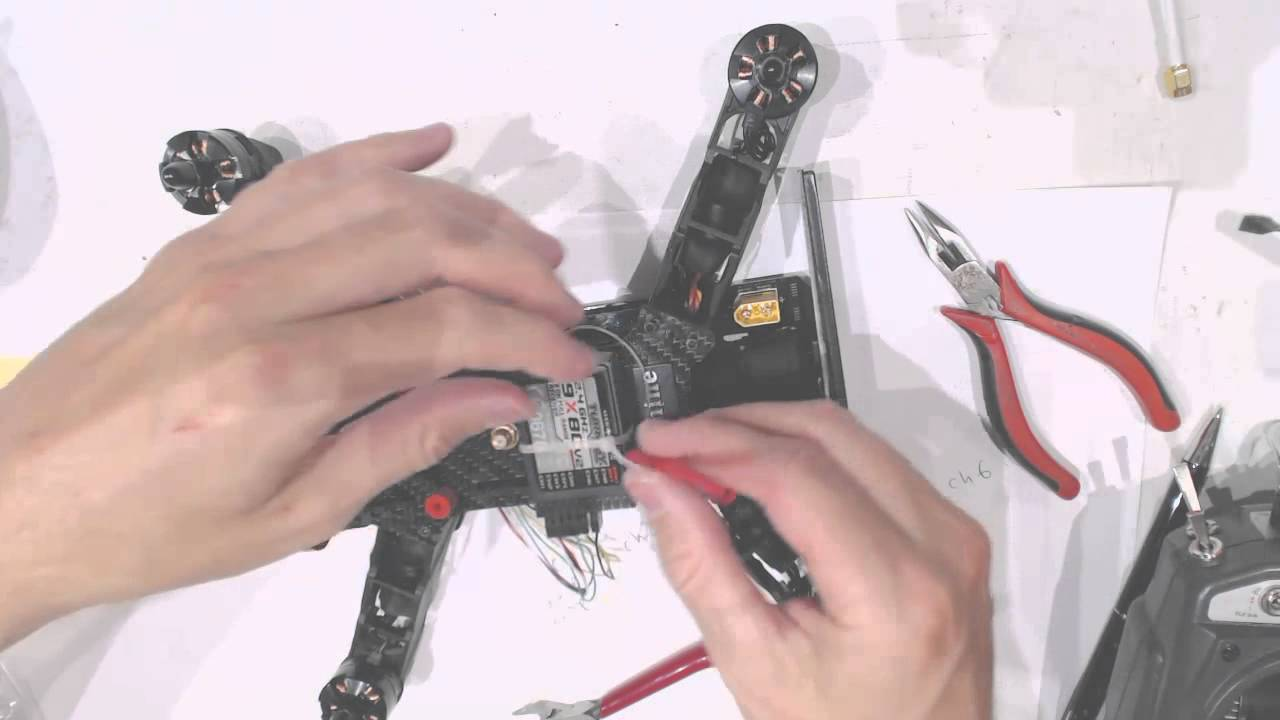 Eachine 250 Review Racer Drone Quad Copter Setup Part 1 Turnigy Wiring Diagram Receiver And Transmitter