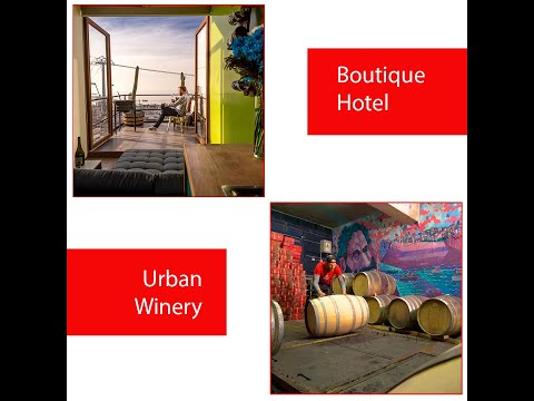 WineBox Valparaiso | Boutique Hotel | Urban Winery. Sustainable lodging with wines and attitude