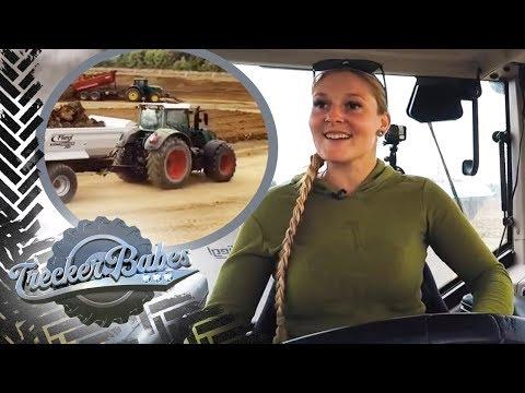 Erster Tag auf der Baustelle: Hedi testet ihren neuen Grotraktor | Trecker Babes | kabel eins