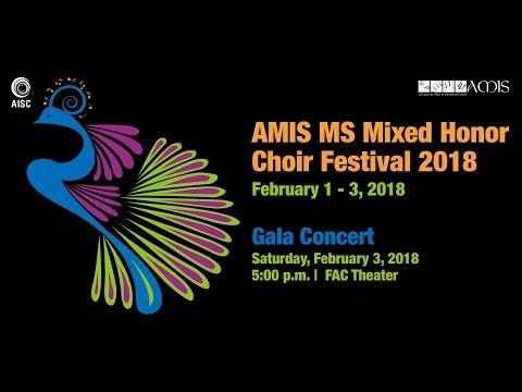 AMIS MS Mixed Honor Choir Festival 2018