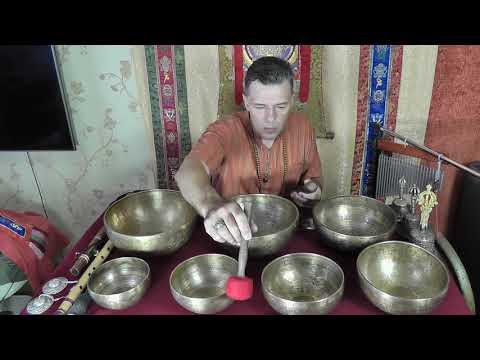 Звукотерапия и медитация с Валерием Лебедь.  Sound Therapy With Valery Lebed.