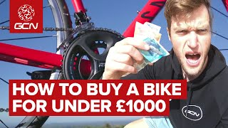 How To Buy A Road Bike For Under £1000