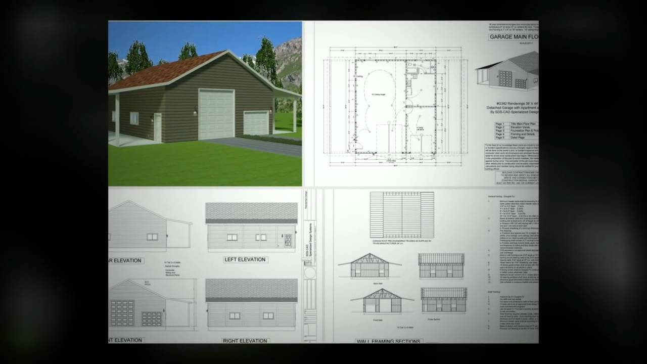 garage with apartment plans dreams do come true youtube