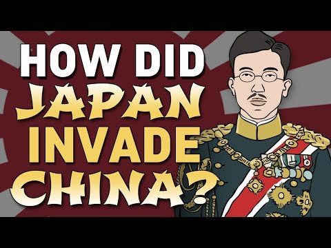 How did Japan Invade China in WWII? | Animated History