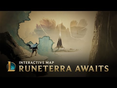 Runeterra Awaits | Interactive Map - League Of Legends thumbnail
