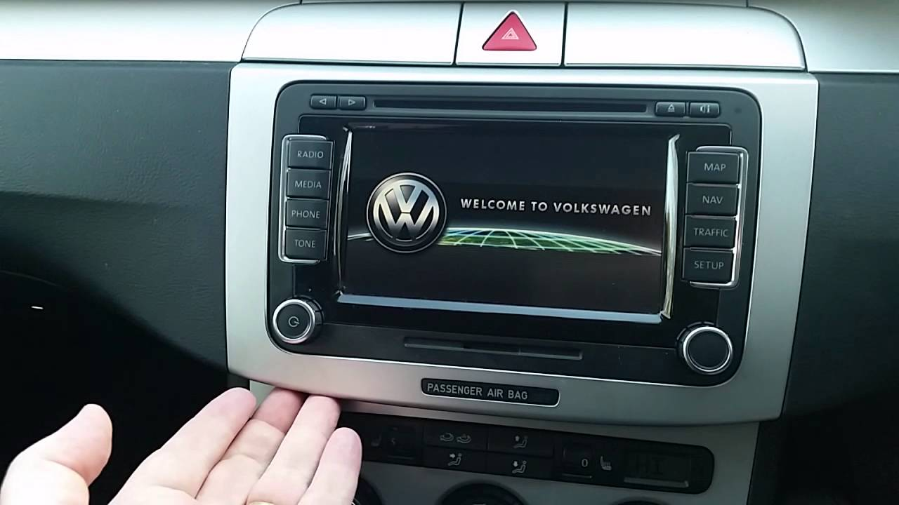faulty vw rns 510 navigation system how to repair youtube. Black Bedroom Furniture Sets. Home Design Ideas