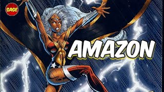 Who is Marvel & DC's Amazon? Storm and Wonder Woman hybrid!
