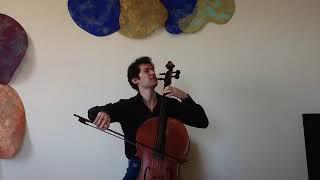 Cellist Michael Katz | VC LIVING ROOM LIVE