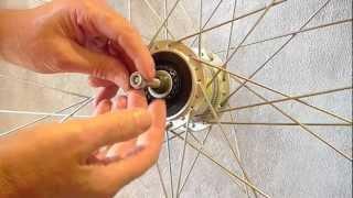 Shimano hub dynamo DH-2R35-E repair