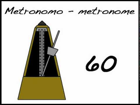 METRONOMO 60 - METRONOME 60 Bpm