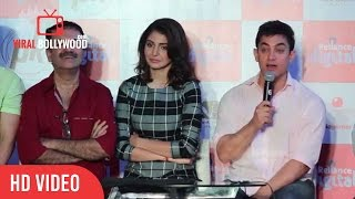 Question Answer Session with Aamir Khan | Anushka Sharma | Pk Game Launch