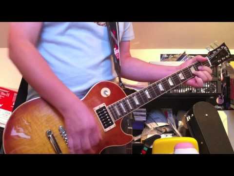 Guns N Roses - Nightrain Cover (audio recording test)