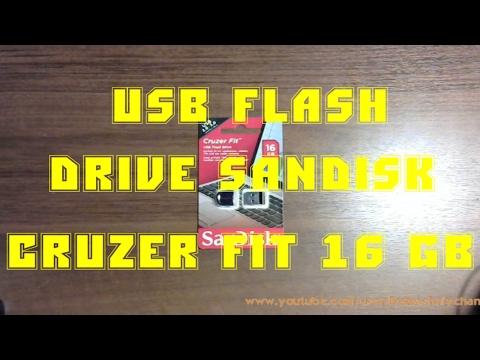 USB Flash Drive SanDisk Cruzer Fit 16 GB