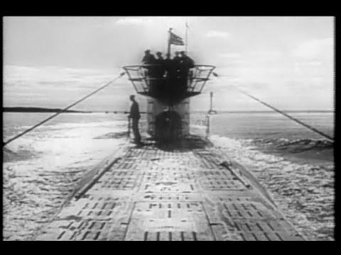 "Victory at Sea ""Design for War"" U-Boat Attack! (1952 ..."