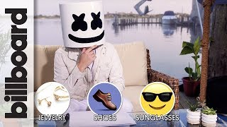 Marshmello Plays '1 Has 2 Go' at Billboard Hot 100 Fest 2017