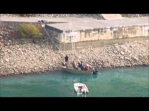 Rare Sighting: Boats On Niagara River Land At Schoellkopf Site
