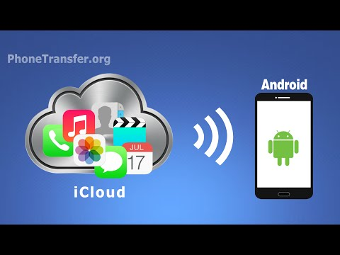 How To Transfer Or Download All Contacts,SMS,Call Logs,Photos,Videos From ICloud To Android Phone