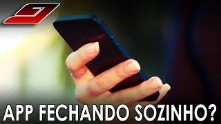 Aplicativo FECHANDO SOZINHO (PROBLEMA RESOLVIDO) | Guajenet