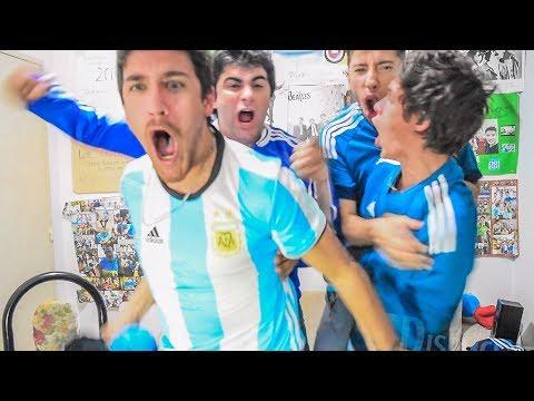 Ecuador 1 Argentina 3 | Eliminatorias Rusia 2018 | Reacciones AMIGOS