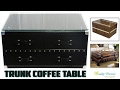[Daily Decor] Trunk Coffee Table