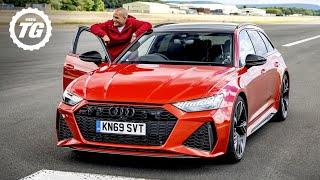 2020 Audi RS6 Avant vs Chris Harris   Top Gear: Series 29