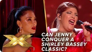 Can Jenny conquer a Shirley Bassey classic?   Live Week 2   X Factor: Celebrity