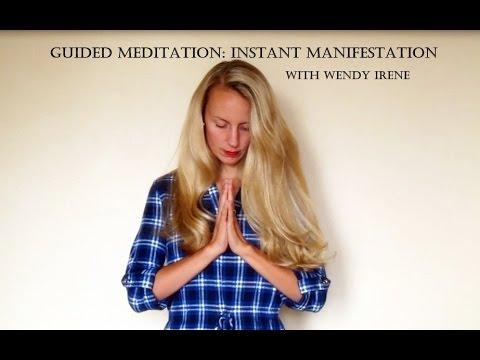 Guided Meditation: Instant Manifestation