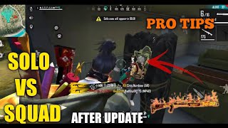 FREE FIRE | AFTER UPDATE RANK PRO TIPS AND TRICKS  KILL FREE FIRE | KILL FULL SQUAD WITH M1014