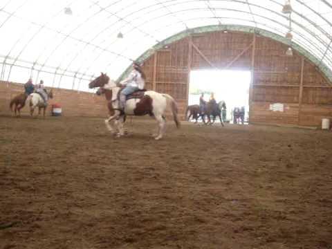 Adirondack Cowgirls Drill Team At halloween gymkhana.
