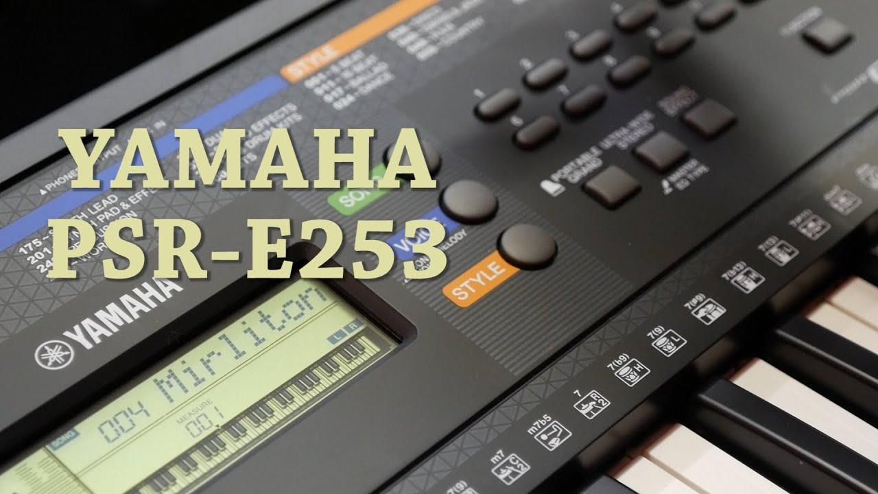 Yamaha Psr E Demo