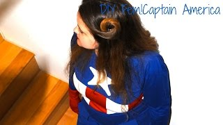 Diy Fem!captain America Cosplay