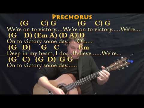 We Shall Overcome (HYMN) Guitar Cover Lesson In G With Chords/Lyrics - Munson