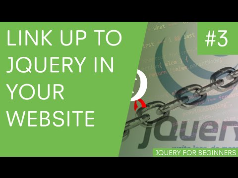jQuery Tutorial for Beginners #3 - How to Use jQuery in Your Website