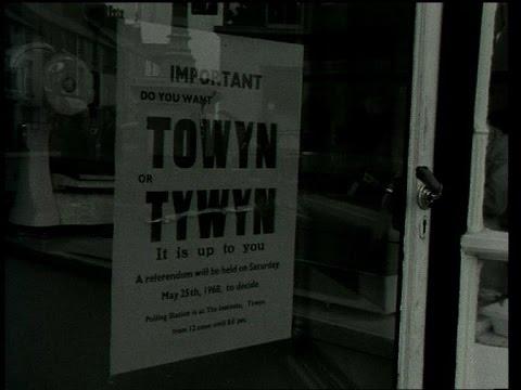 Towyn neu Tywyn? 1968