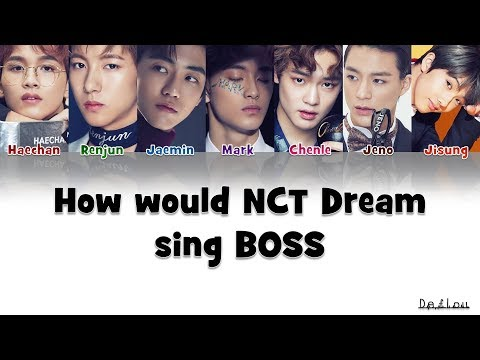 How Would NCT DREAM sing BOSS (Color Coded Lyrics) | by Deflou