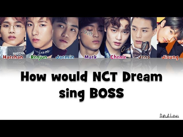 How Would NCT DREAM sing BOSS