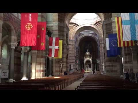 Inside the Marseille La- Juliette Cathedral