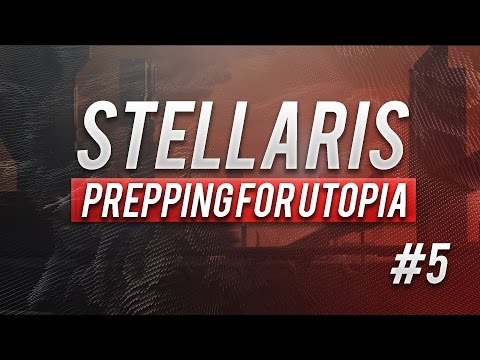 Stellaris - Energy Credits | Let's Play Stellaris Preparing For Utopia dlc Gameplay