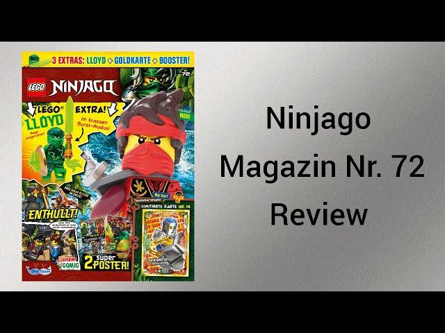 Lloyd Action! | Ninjago Magazin Nr. 72 Review [deutsch] | Steinfreund2014