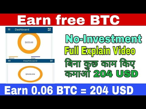 How to earn bitcoin fast without investment