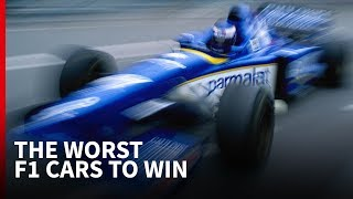 The 10 worst F1 cars to win a Grand Prix