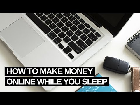 How To Make Money Online With Affiliate Marketing While You Sleep