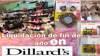 Liquidación de RELOJES Y JOYERÍA de marca en DILLARD'S