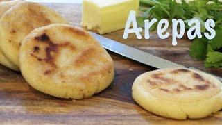 Arepas Venezolanas | The Frugal Chef
