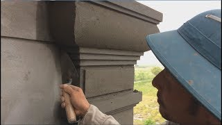 Special Tip  Design Column By Sand And Cement For New House