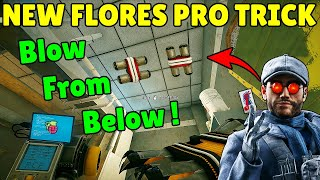 *NEW* Flores Pro Trick | True Experience Of Crimson Heist - Rainbow Six Siege