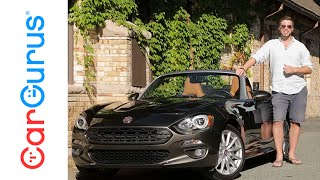 2017 Fiat 124 Spider | CarGurus Test Drive Review