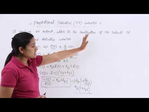 Proportional Derivative PD Controller