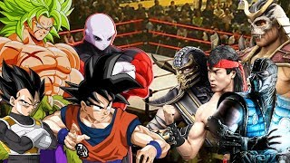Dragon Ball Super VS Mortal Kombat